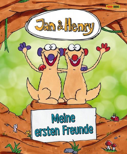 Jan und Henry Freundebuch - Meine ersten Freunde