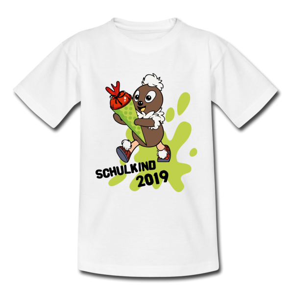 Pittiplatsch Schulkind 2019 Kinder T-Shirt von Spreadshirt