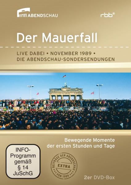 Der Mauerfall - Live dabei - November 1989 - Die Abendschau-Sondersendungen (2er DVD-Box)