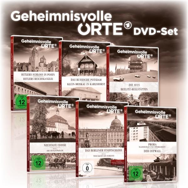 Geheimnisvolle Orte - 6er DVD-Set