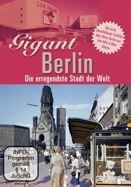 Gigant Berlin - Die erregendste Stadt der Welt (DVD)