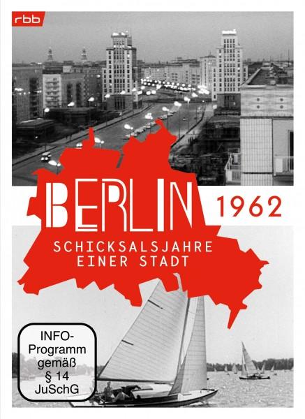 Berlin - Schicksalsjahre einer Stadt - 1962 (DVD) - ohne Geschenk-Banderole