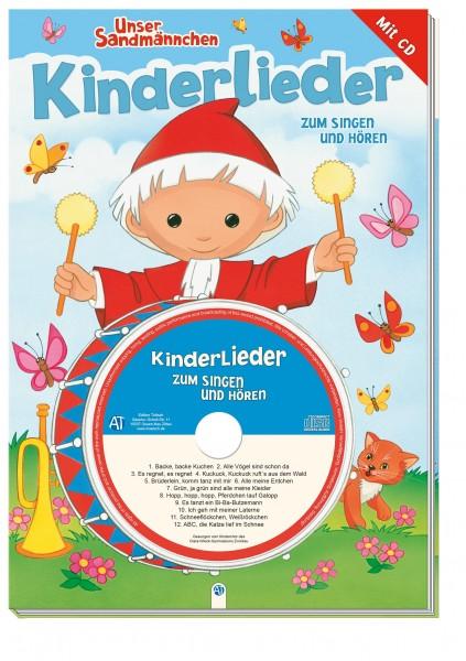 Unser Sandmännchen - Kinderlieder zum Singen und Hören (Buch mit Musik-CD)