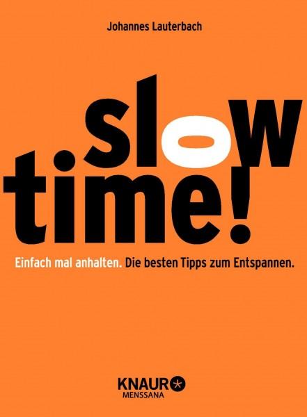radioeins Buch Slowtime!