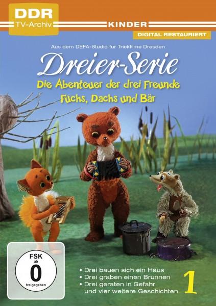 Die Abenteuer der drei Freunde Fuchs Dachs und Bär Vol. 1 (DVD)