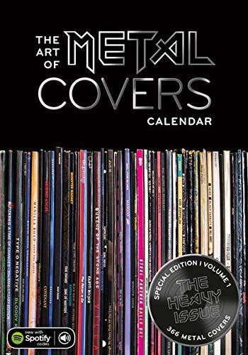 Kalender The Art of Metal Covers 2022
