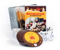 Pittiplatsch im Koboldland (10er DVD-Box ) in einer Keksdose und Pitti-Plätzchenform - limitiert