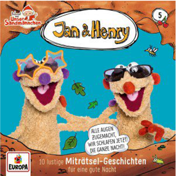 Jan & Henry CD Vol. 5