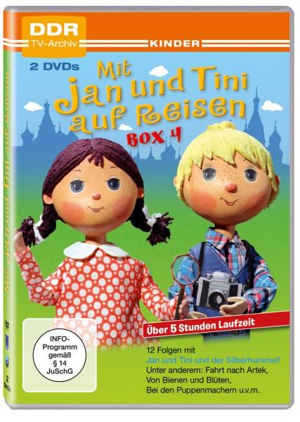Mit Jan und Tini auf Reisen Box 4 (2 DVDs)