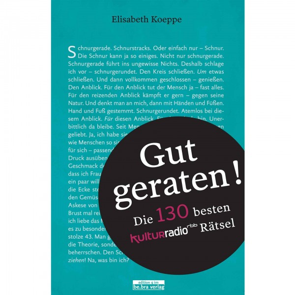 Buch Gut geraten!