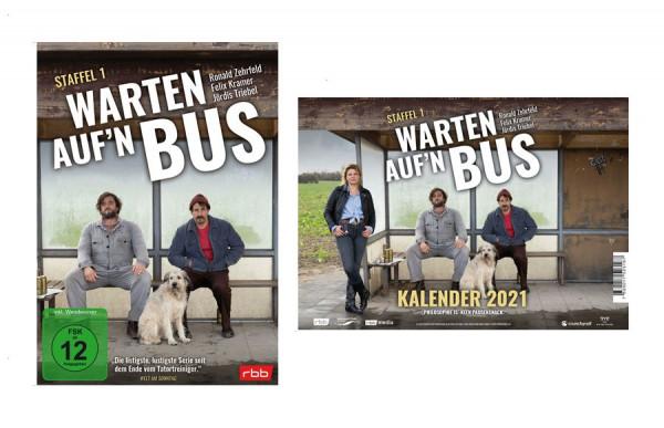 Warten auf´n Bus -Set (DVD & Tischkalender 2021)