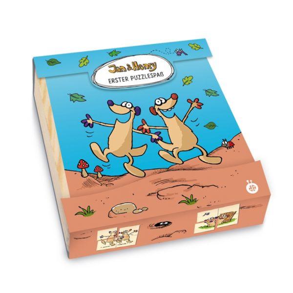 Jan & Henry - Erster Puzzlespaß aus Holz