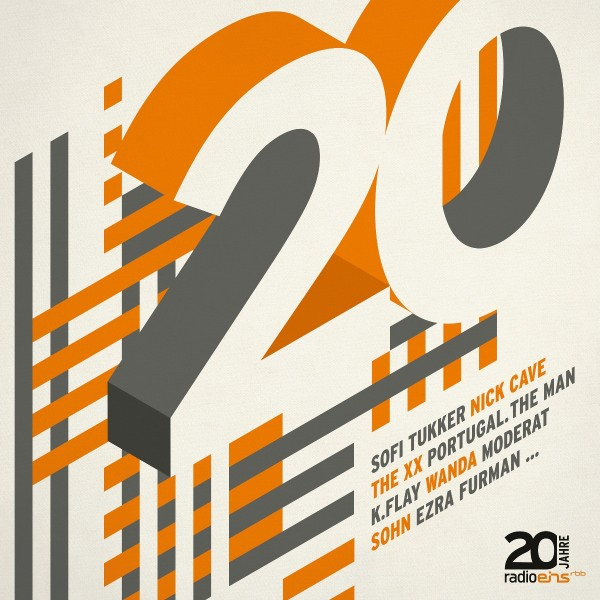 radioeins CD 20 Jahre Compilation (2er CD-Box)