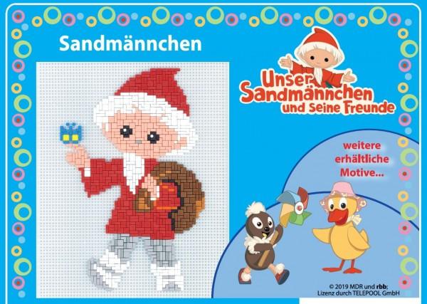 Ministeck-Spiel Sandmännchen und seine Freunde