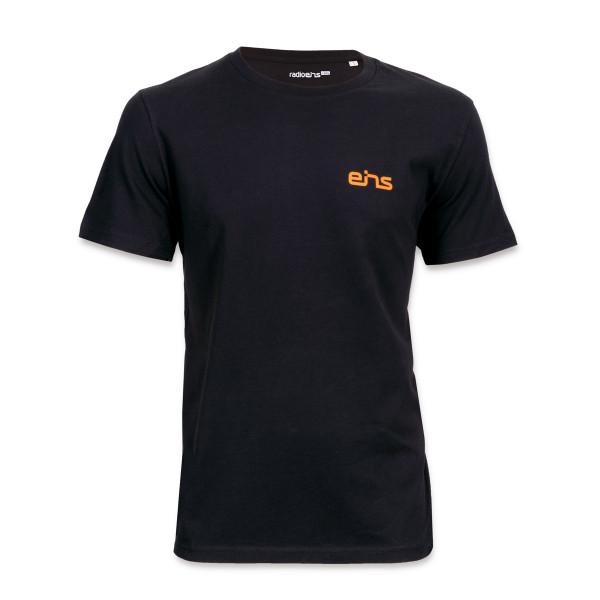 EINS T-Shirt- schwarz