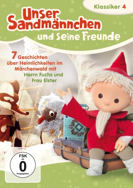 Sandmann DVD - Unser Sandmännchen Klassiker Teil 4 – Sieben Geschichten über Heimlichkeiten im Märchenwald mit Herrn Fuchs und Frau Elster Cover