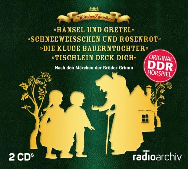 Märchen-Hörspiel-Box nach den Brüdern Grimm -DDR-Archiv (2 CDs)