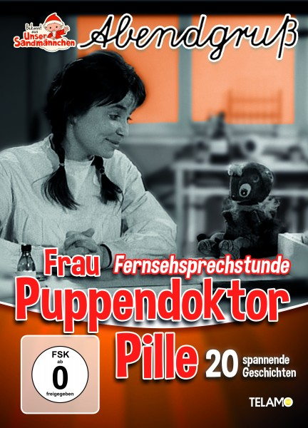 Unser Sandmännchen Abendgruß - Frau Puppendoktor Pille Fernsehprechstunde (DVD)