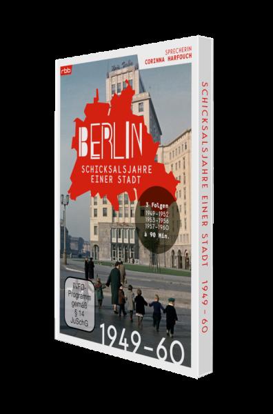 Berlin - Schicksalsjahre einer Stadt - 1949 bis 1960 (2er DVD-Box)