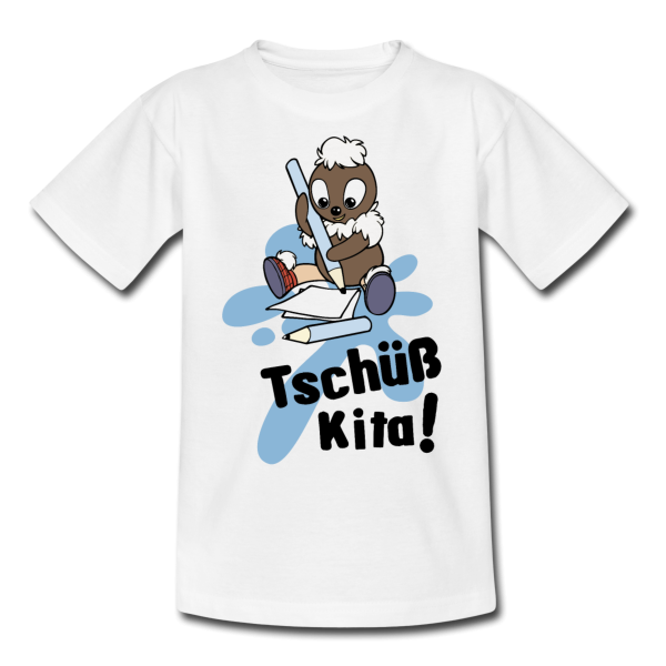 Pittiplatsch Tschüß Kita - Kinder T-Shirt von Spreadshirt