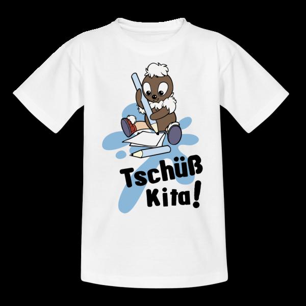 Pittiplatsch Tschüß Kita - Kinder T-Shirt von Spreadshirt