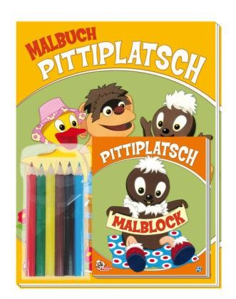 Pittiplatsch Malbuch-Set