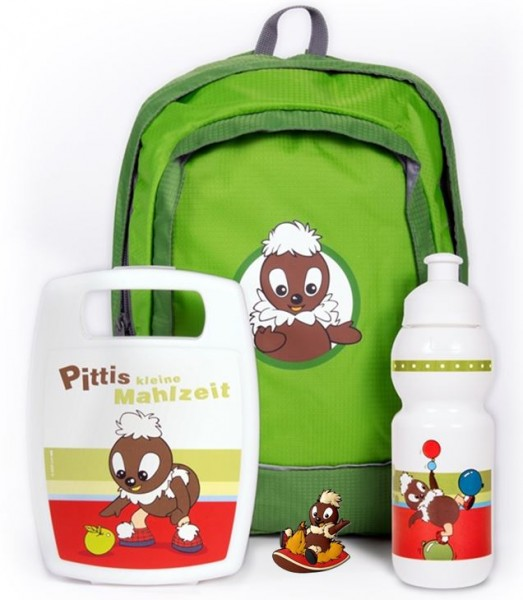 Pittiplatsch Kindergarten-Set (4-teilig)